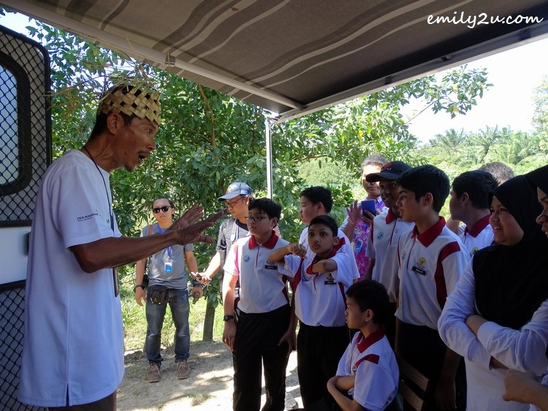 10. nature guide briefs these school children on treasures of the forest