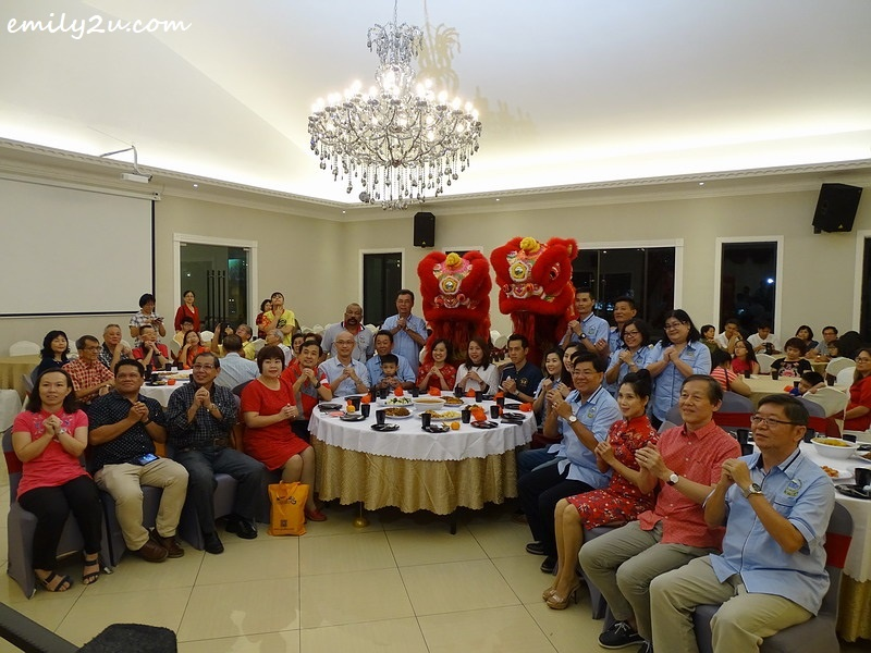 11. Gong Xi Fa Cai from Perak Press Club committee members and VIP guests
