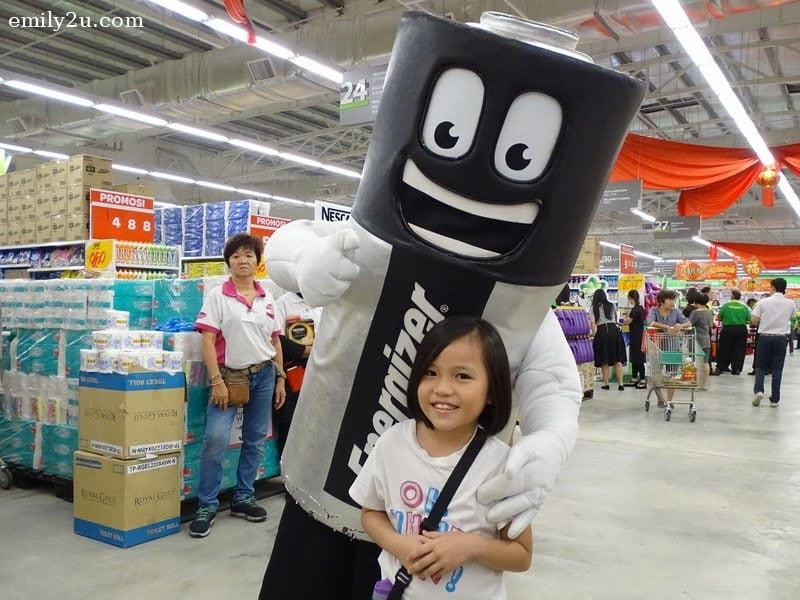 13. Energizer mascot
