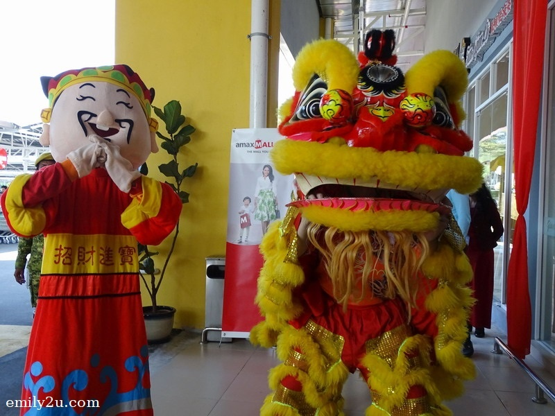 21. lion dance in conjunction with early Chinese New Year celebration