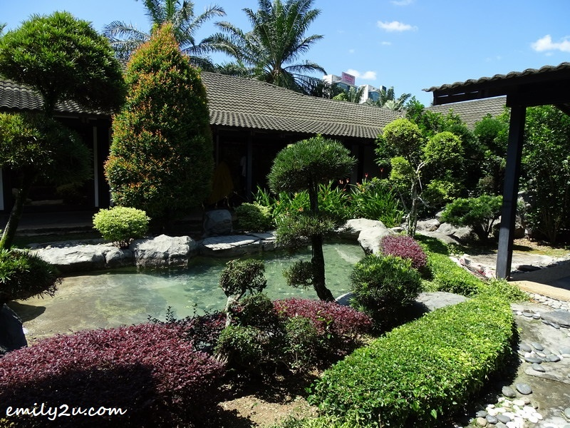 4. well-manicured garden