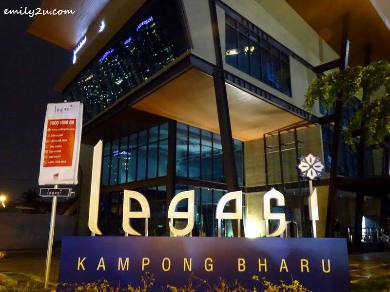 6. new development named Legasi Residensi Kampong Bharu