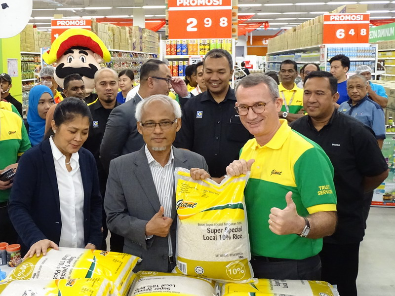 6. thumbs up for Giant home brand rice
