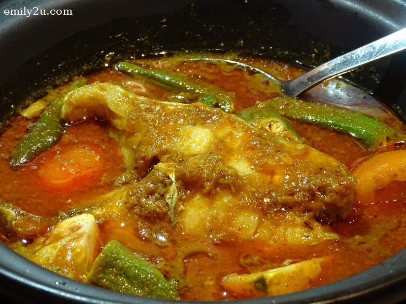 8. claypot assam grouper (fish)