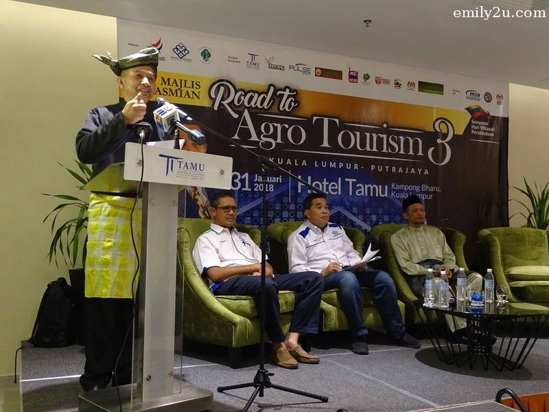 speech by En Aminuddin Mohamad, ExCo Malaysia Tourism Council