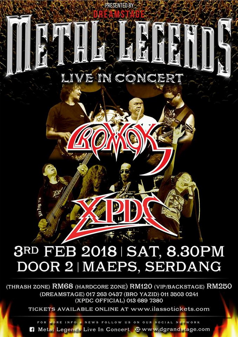 Metal Legends Live In Concert