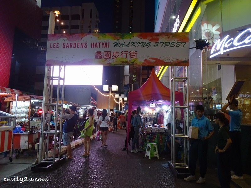 1. Lee Gardens Hatyai Walking Street