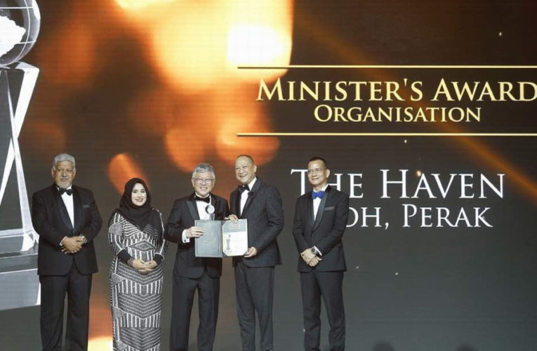 The Haven Ipoh Accorded Minister's Award at 20th Malaysia Tourism Awards