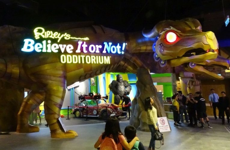 Ripley's Believe It or Not Odditorium @ Big Box, SkyAvenue, RWG