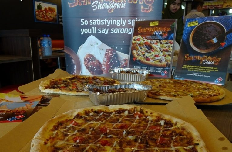 Annyeong Haseyo Domino's Pizza Samyeang Superstars!