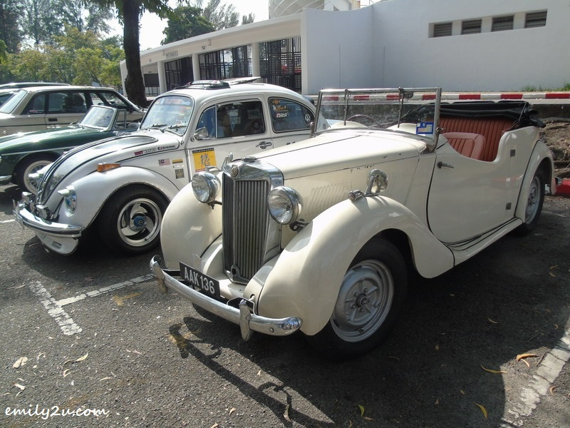 10. 1949 MG Y-type 4-seater convertible