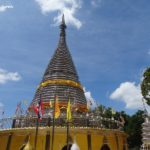 Phra Maha Chedi Tripob Trimongkol (Stainless Steel Temple) in Hat Yai
