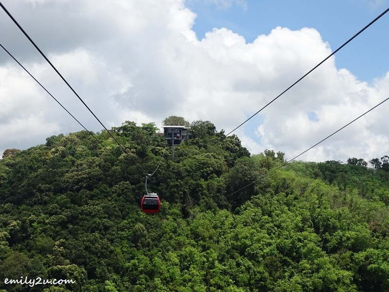 13. cable car system that links the Phra Buddha Mongkol Maharaj area to Lord Brahma Complex