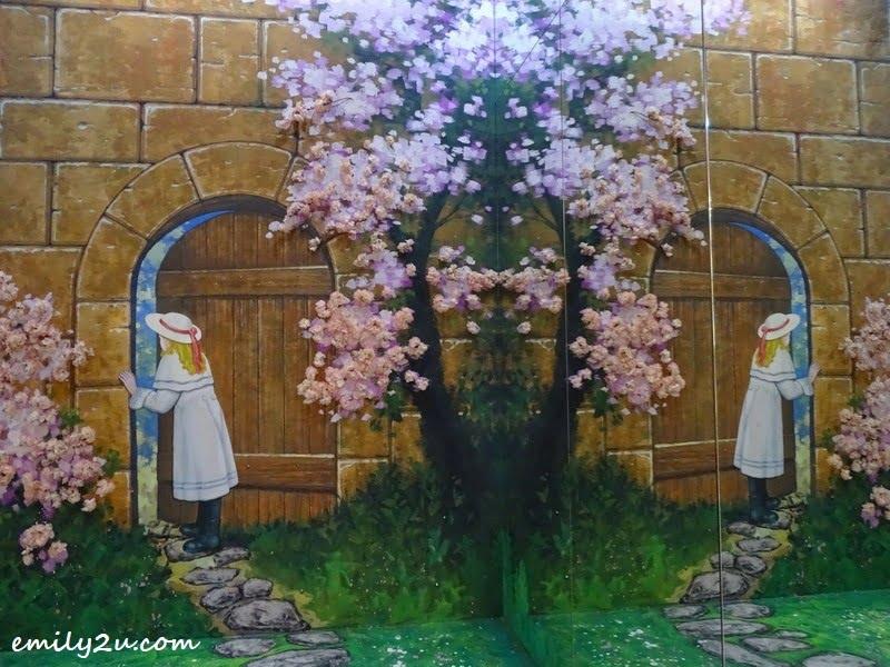 17. English garden