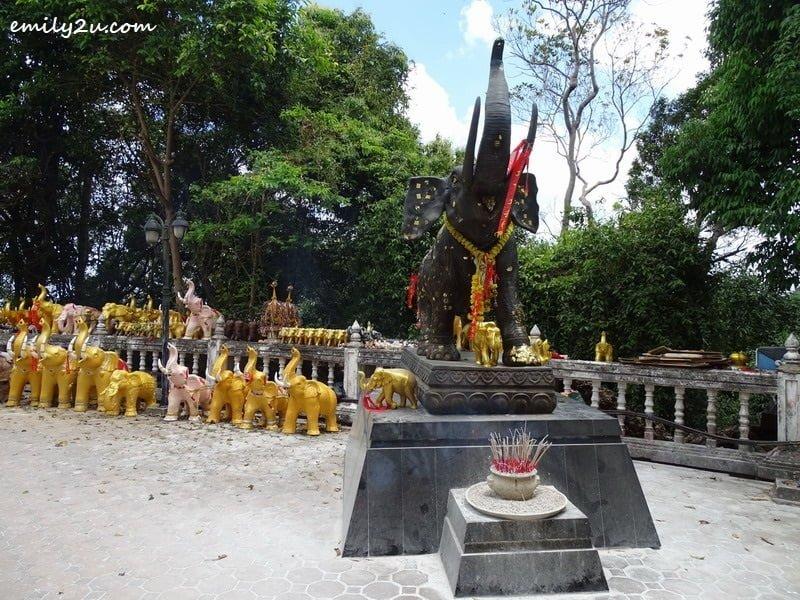17. elephant statues