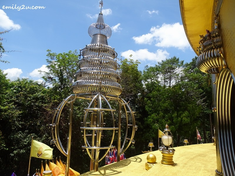 17. one of the stupa-like structures