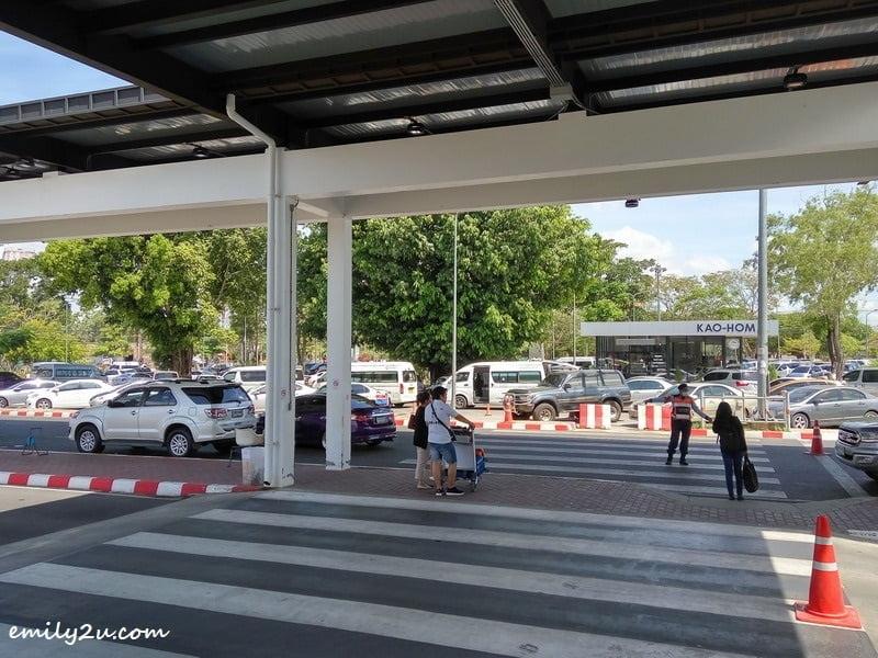 2. Hat Yai International Airport arrival gate