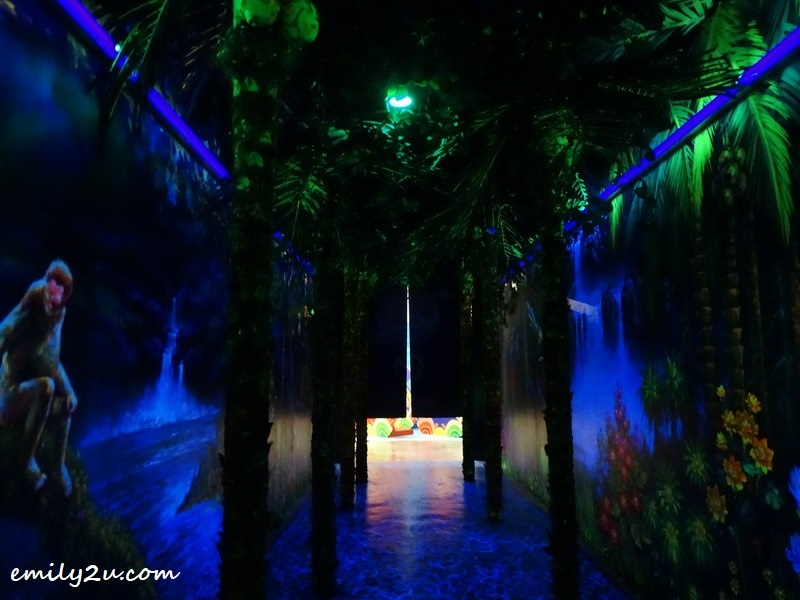 2. the interactive Malaysian jungle