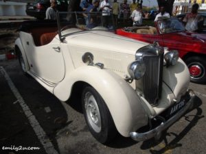 2 classic cars gathering