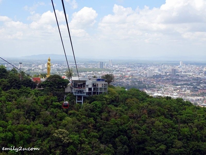 21. cable car ride back to Phra Buddha Mongkol Maharaj area