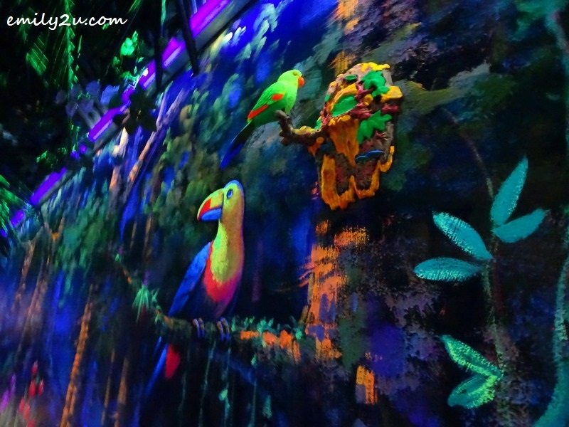 3. the luminous jungle captivates visitors