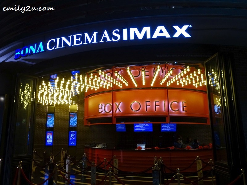 3. the spanking new Bona Cinemas at SkyAvenue, Resorts World Genting