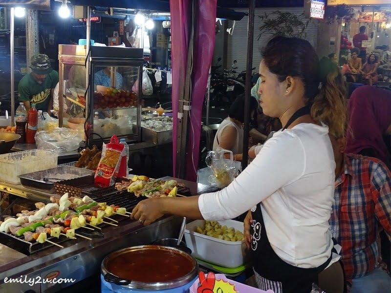 3. meat kebabs