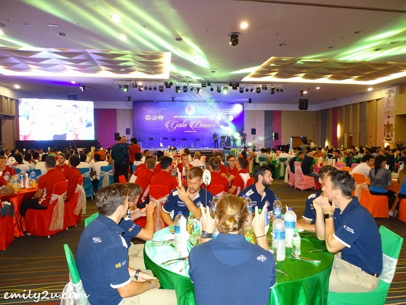 3. the gala dinner at Casuarina@Meru