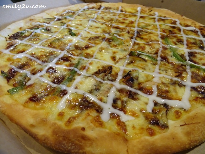 3. Samyeang Chicken Pizza