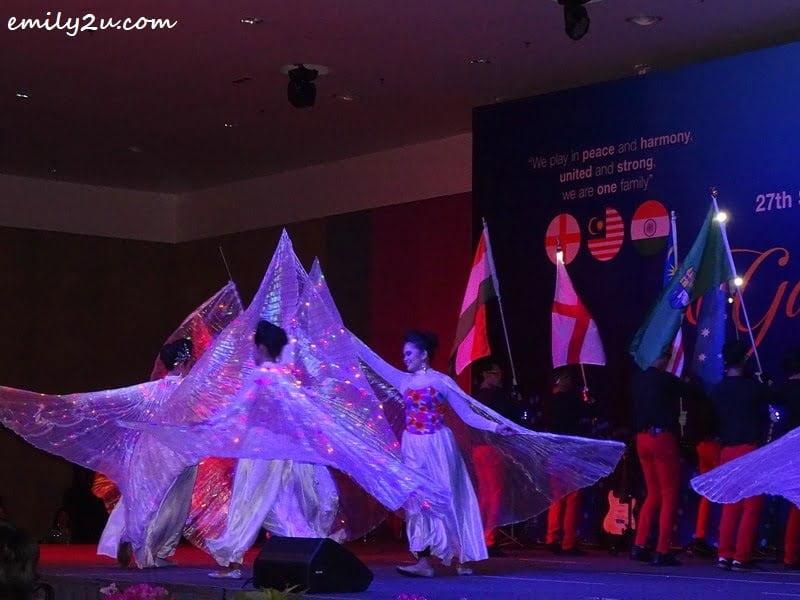 4. LED Wings by Kumpulan Selendang Perak