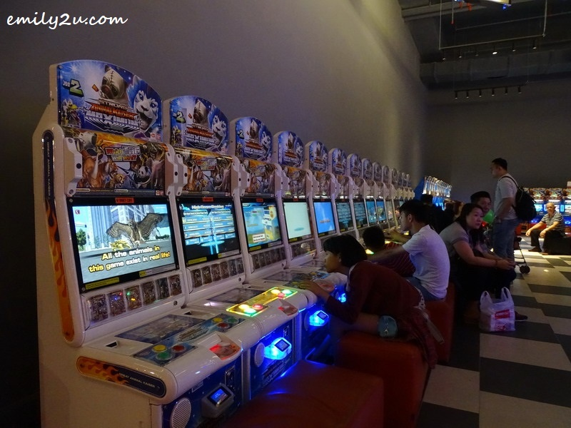 7. rows and rows of arcade machines