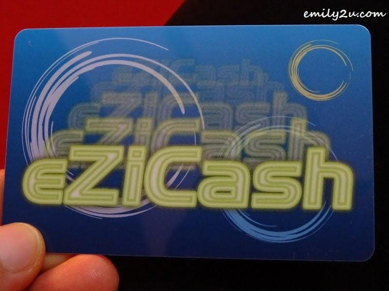 8. eZiCash card