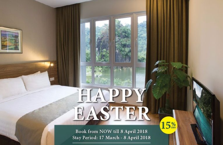 Easter Promotion at The Haven Resort Hotel Ipoh All Suites