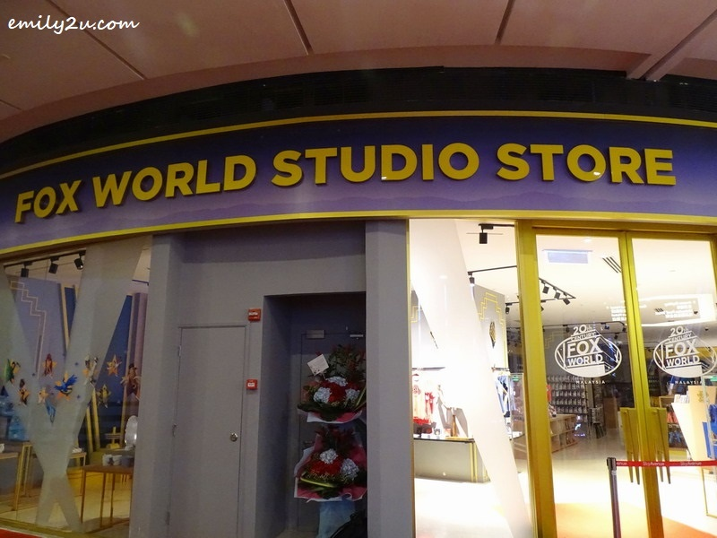 1. 20th Century Fox World Studio Store