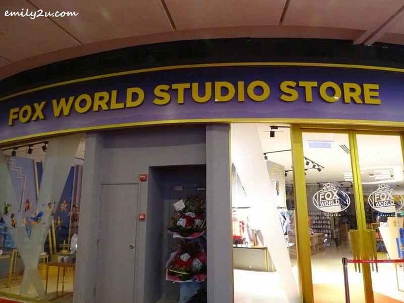 1. 20th Century Fox World Studio Store