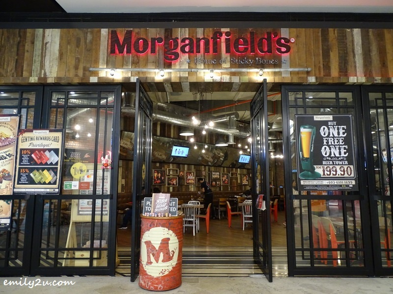1. Morganfield's, SkyAvenue, Resorts World Genting