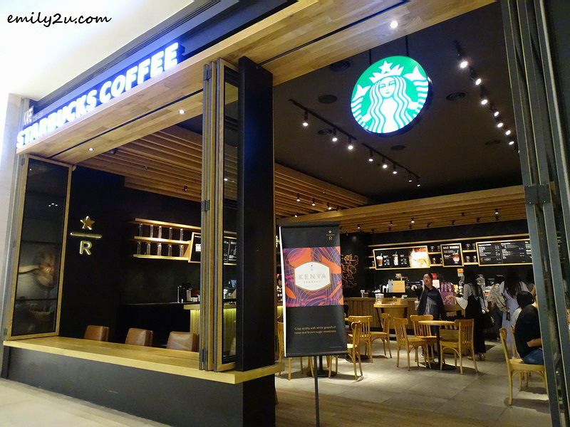 1. Starbucks Reserve®, SkyAvenue