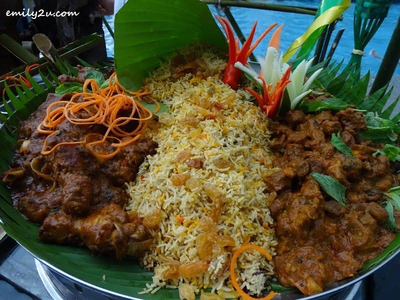 10. Nasi Briyani Ayam & Kambing
