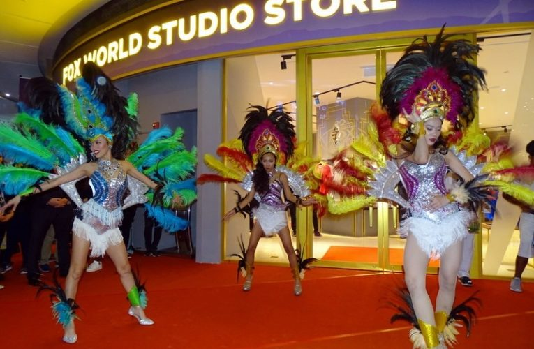 Opening of World's First 20th Century Fox World Studio Store at SkyAvenue, RWG