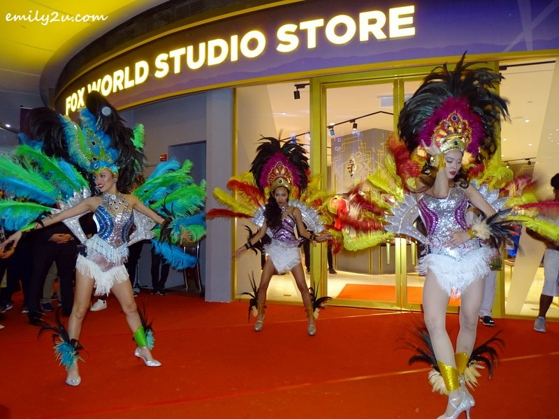 12. Samba dance performance to kick off the launch