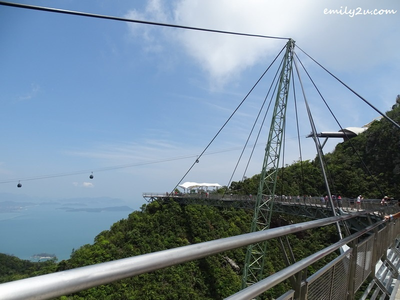 14. SkyBridge with cable cars in the horizon