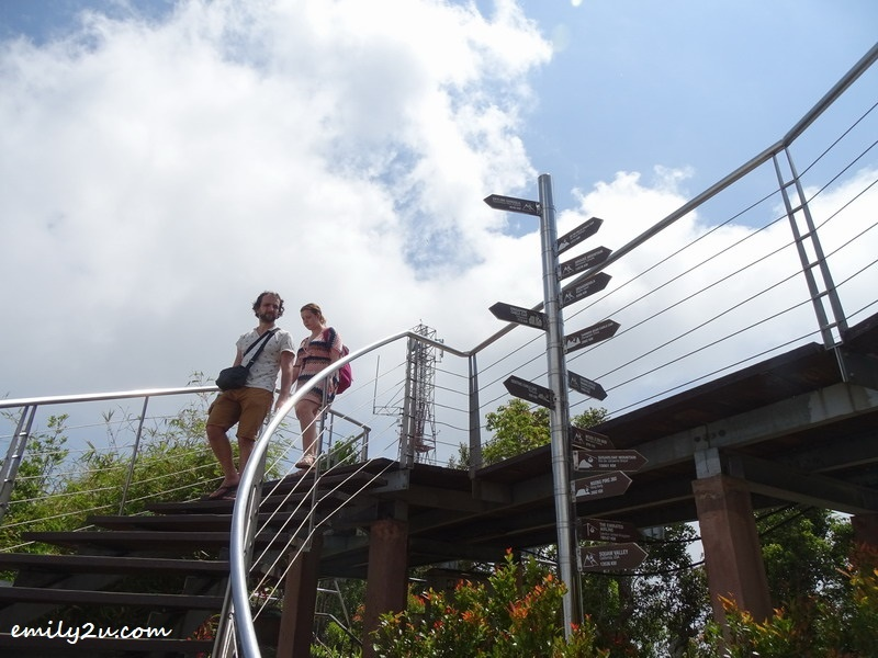 16. stairs to a higher platform