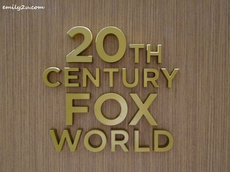 16. 20th Century Fox World
