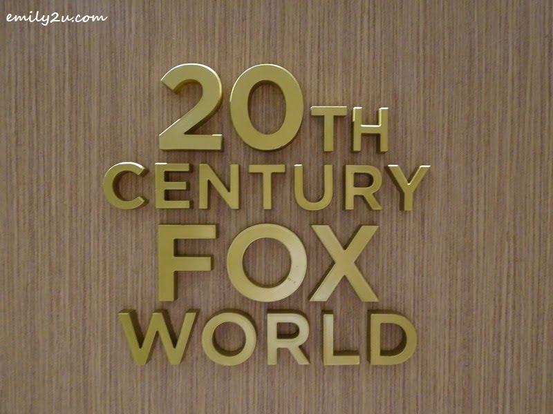 16. 20th Century Fox World