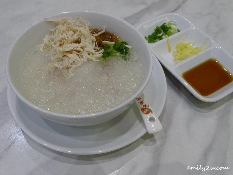 2. Chicken Porridge with Bird's Nest
