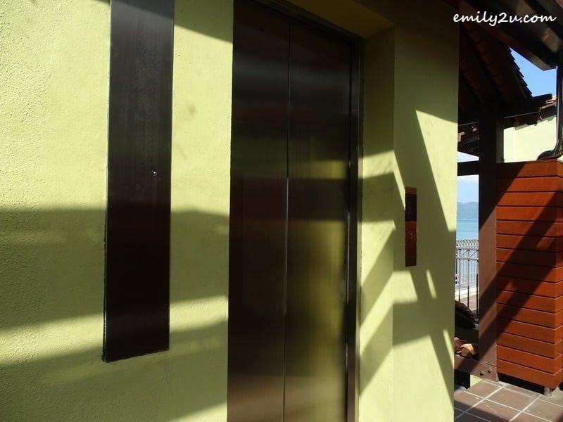21. private elevator