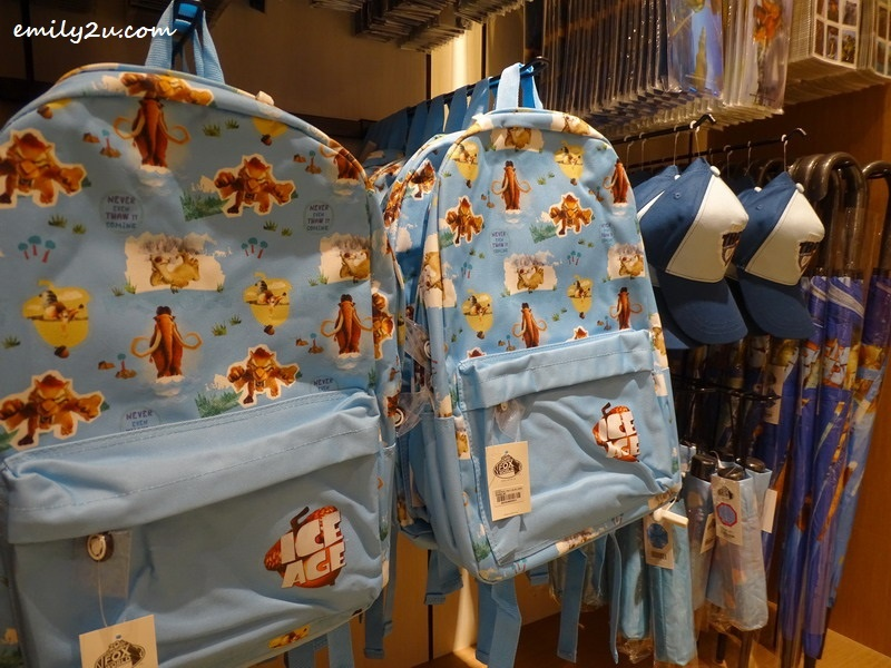 21. Ice Age backpacks