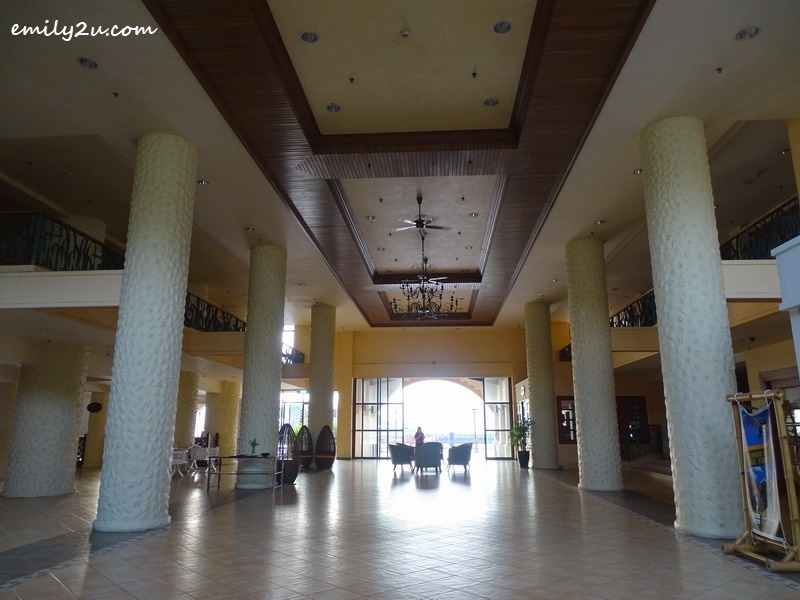 3. lobby with high ceiling