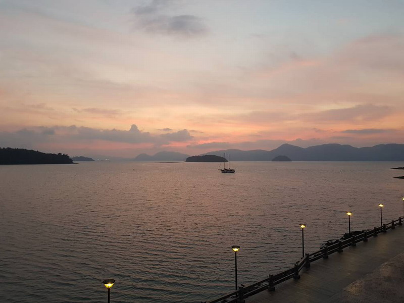 34. sunrise view from Sea View rooms (image credit: Miera Nadhirah)