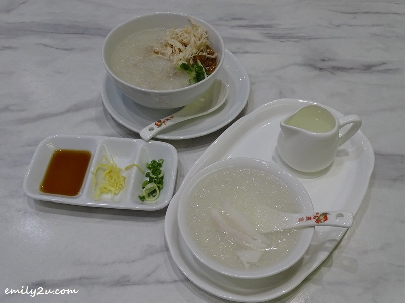 4. Chicken Porridge with Bird's Nest and Bird's Nest Coconut Juice @ Tian Ma Bird Nest, SkyAvenue